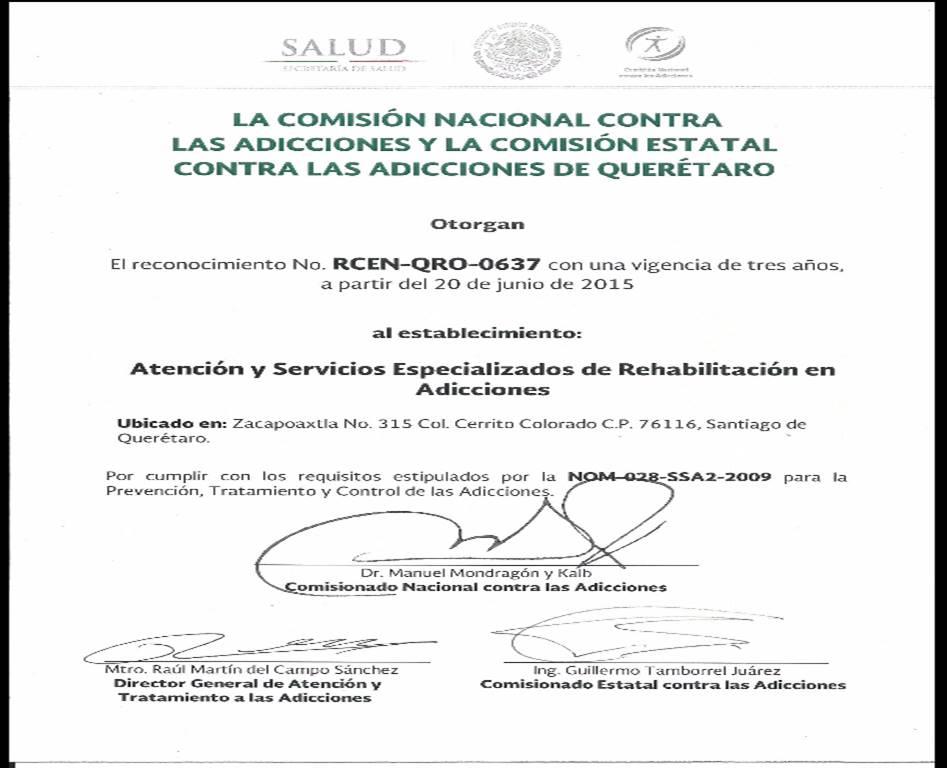 Certificaciones Asera, A.C. Querétaro